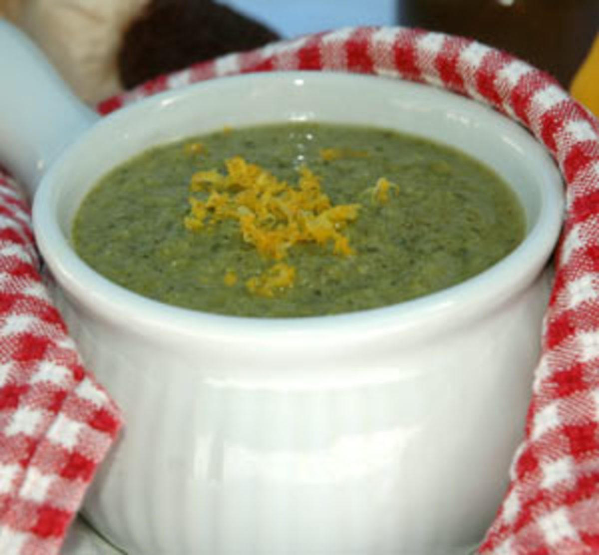 Organic Broccolini & Spinach Soup