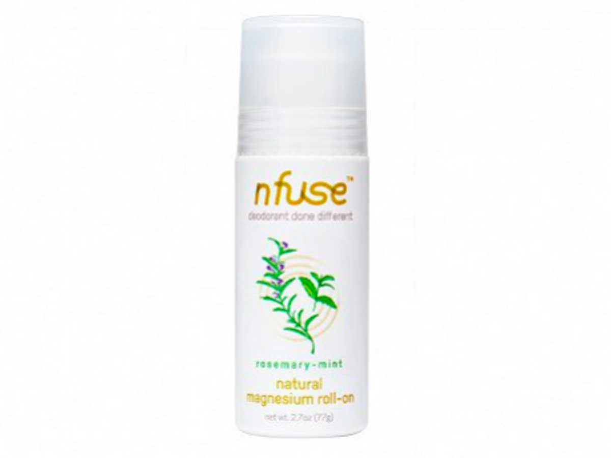 nfuse natural deodorant rosemary mint