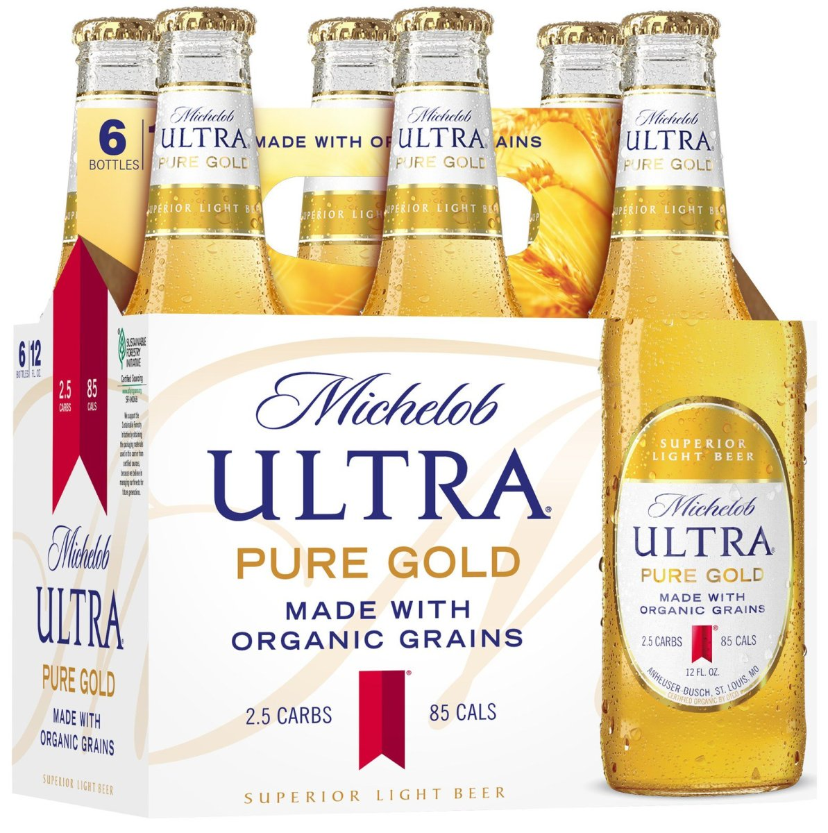 Anheuser-Busch Launches Organic Beer With Michelob Ultra Pure Gold