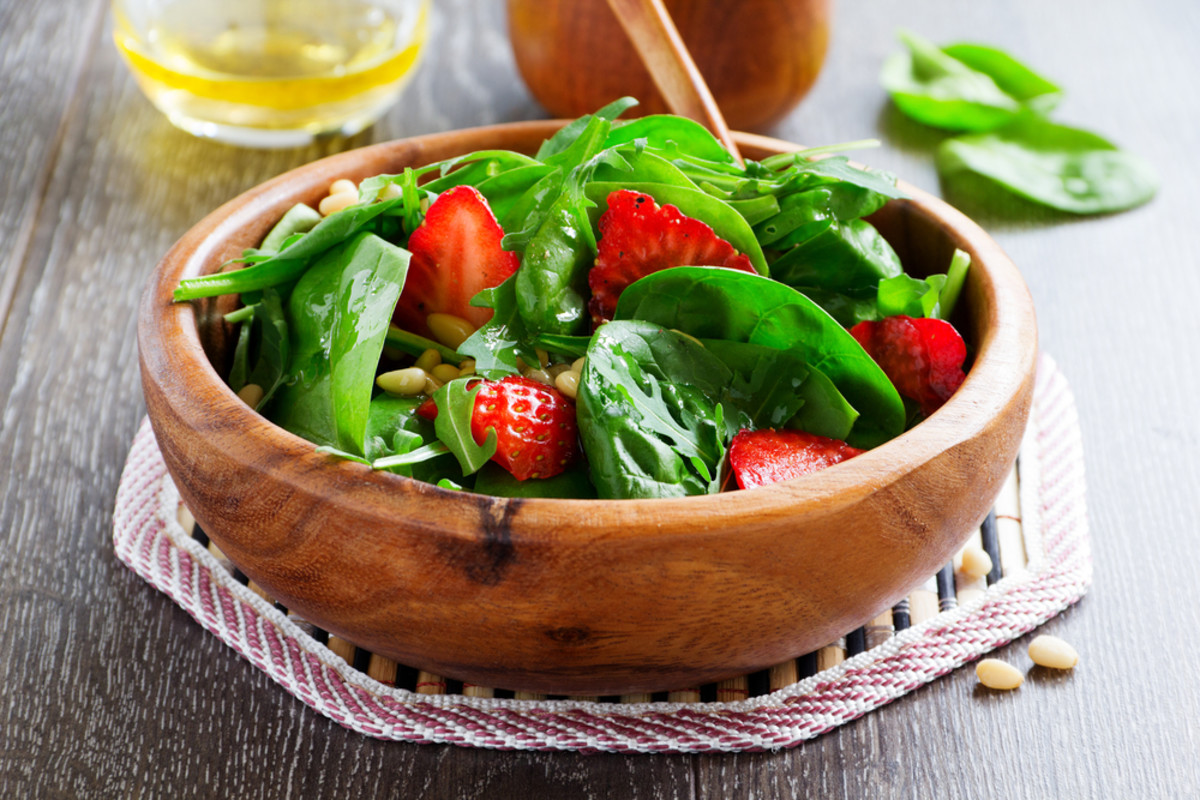 strawberry and spinach salad recipes