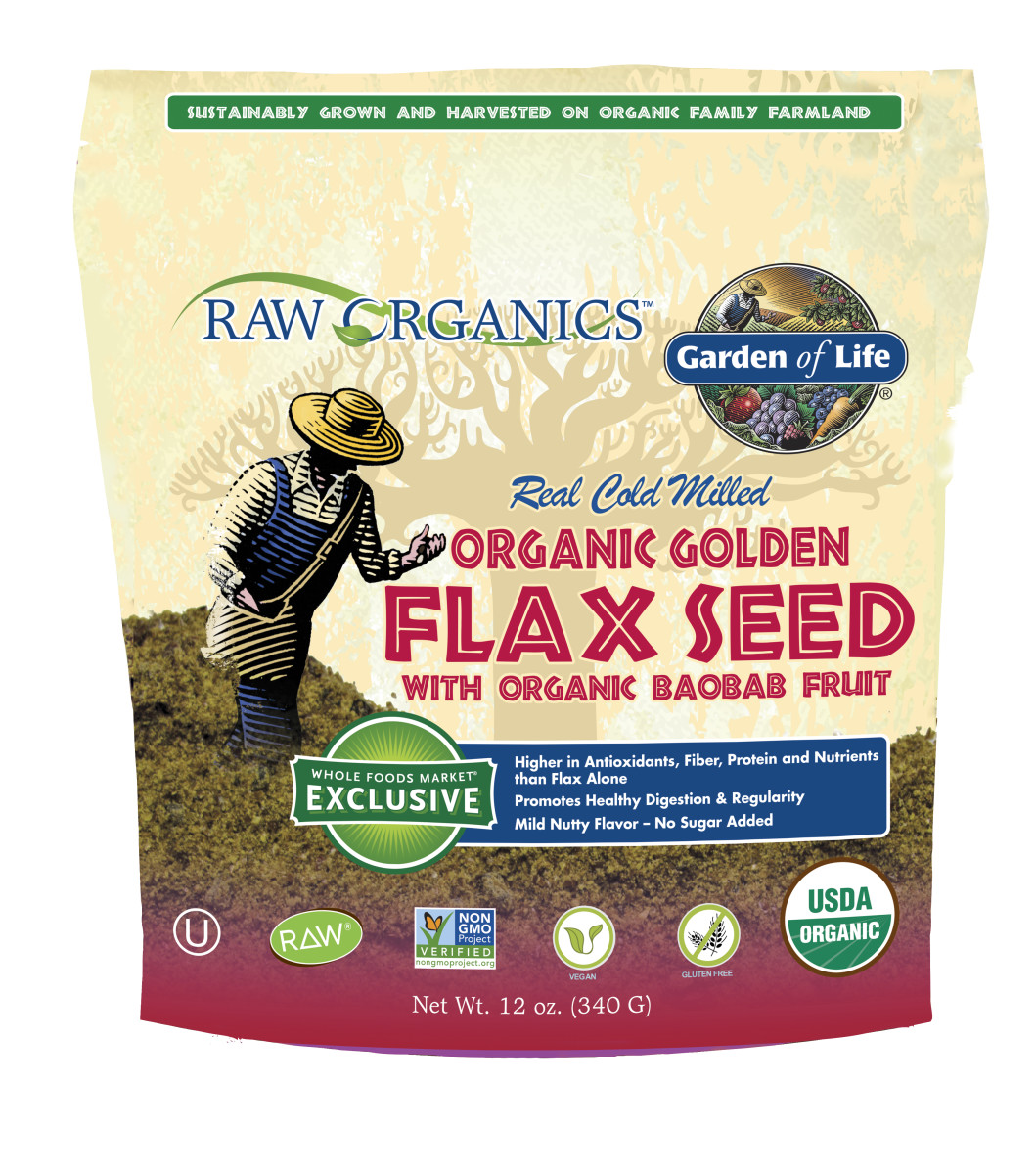 Garden of Life's Raw Organics Flax with Baobab Fruit