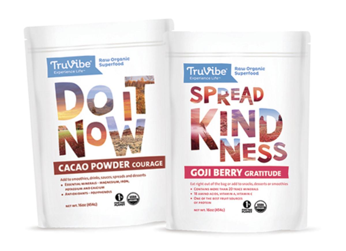 TruVibe Organics - Cacao Powder Goji Berries