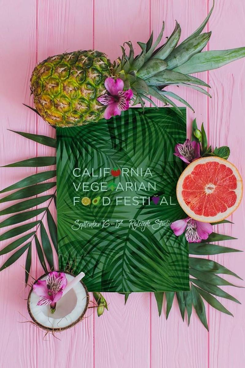 CA Vegetarian Food Festival Promotion