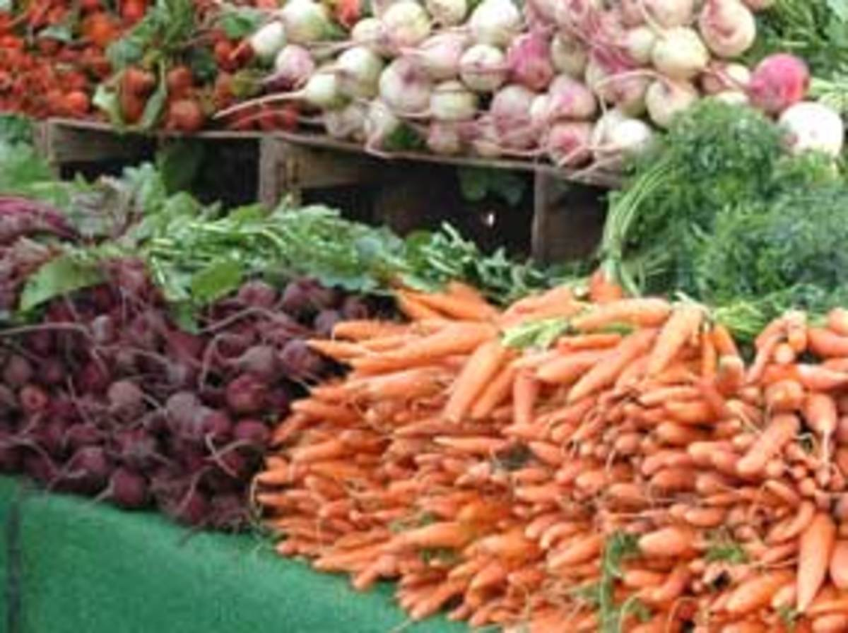 Organic Beets Carrots