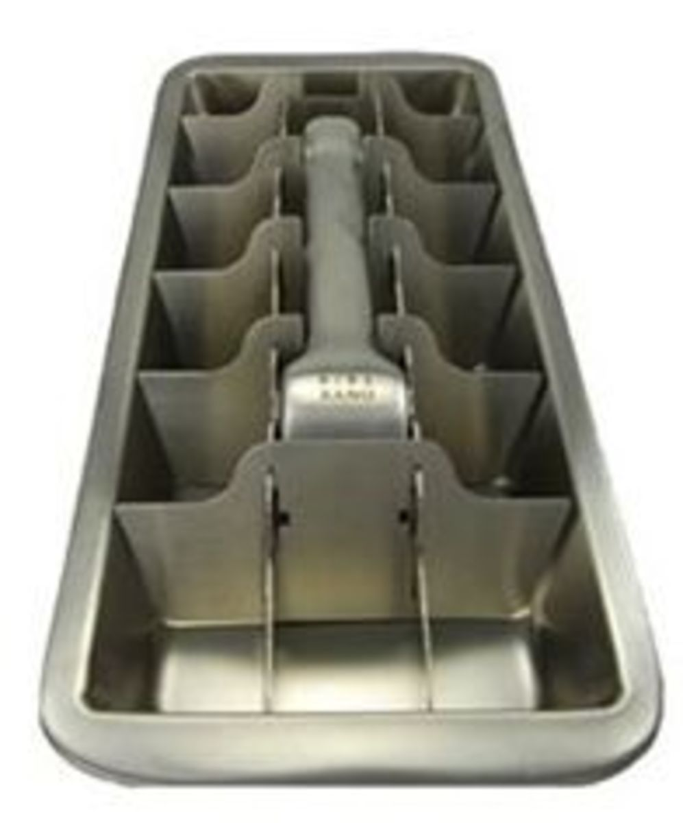 Onyx BPA-Free Stainless Steel Ice Cube Tray
