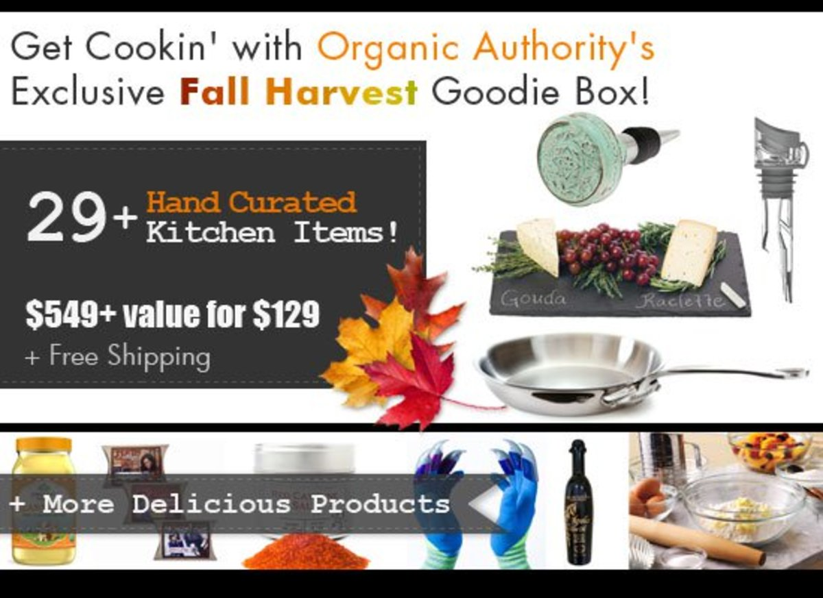 Organic Authority's Fall Harvest Goodie Box
