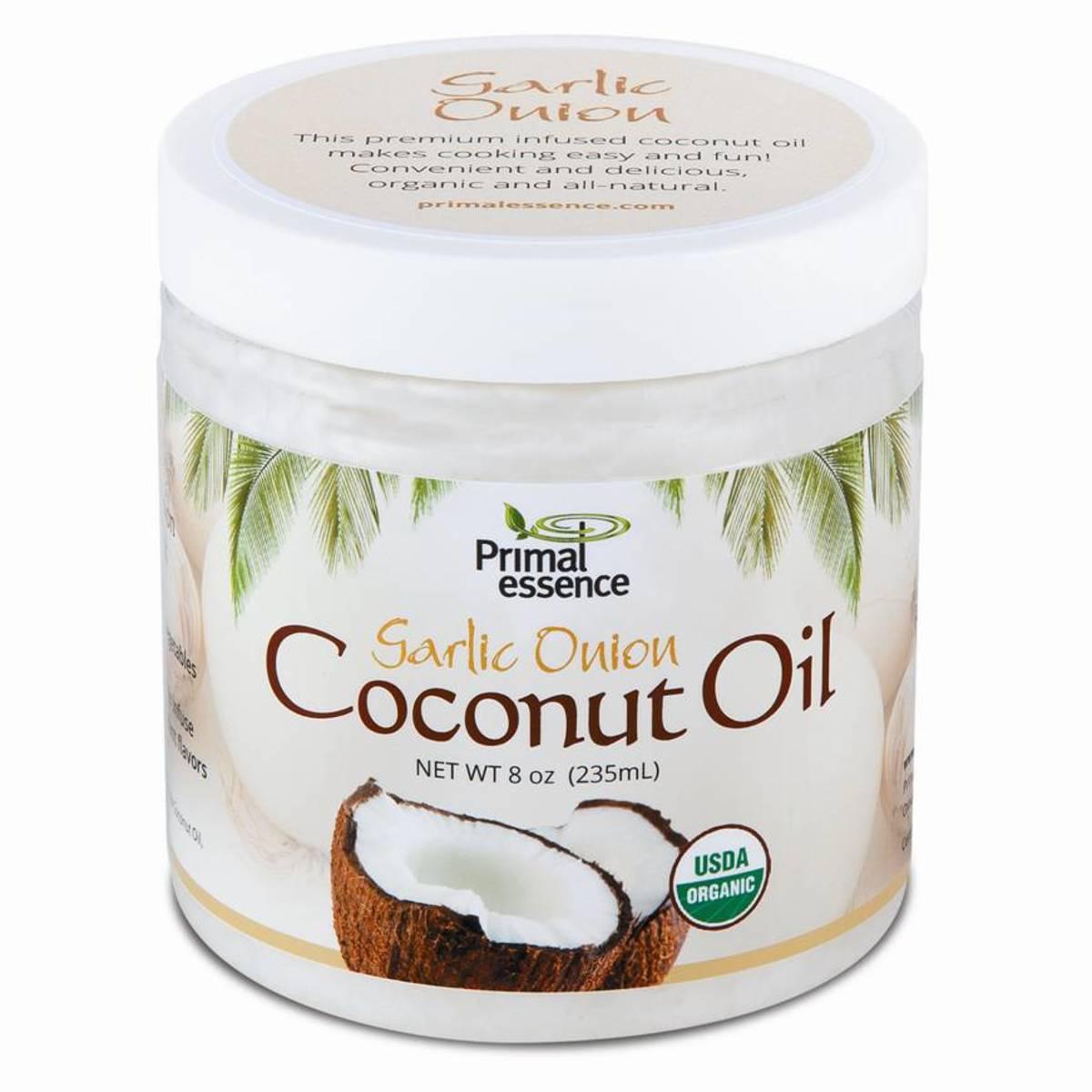 Primal Essence Garlic Onion Coconut Oil