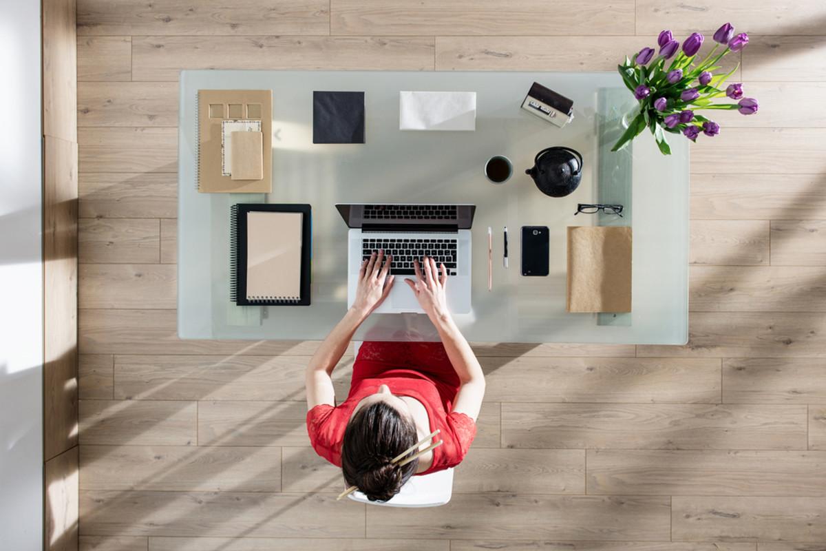 organized woman