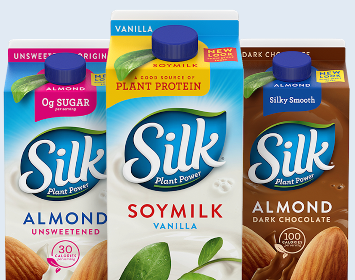 silk soy milk from whitewaves foods