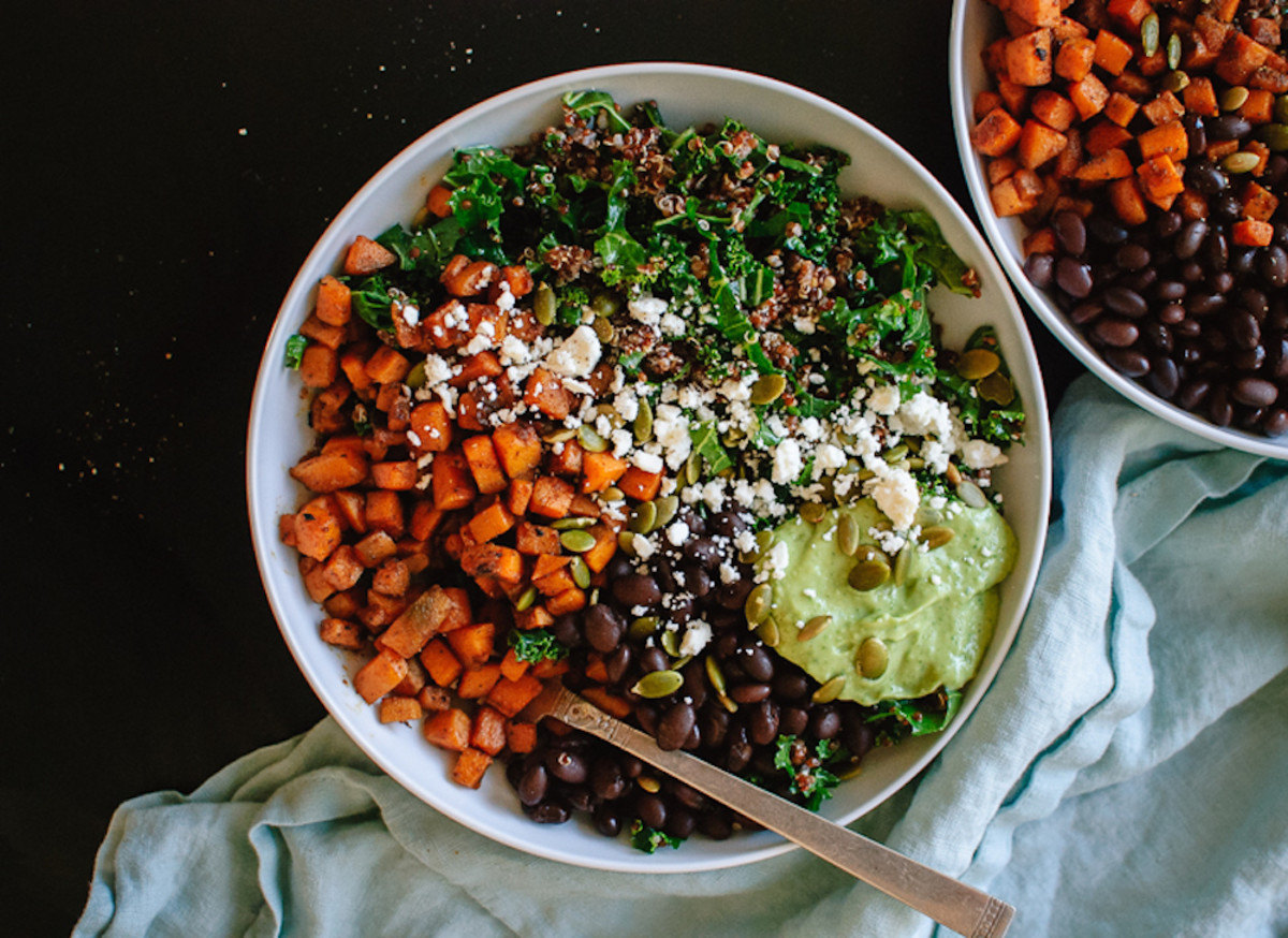 southwestern bowl sweet potato recipes