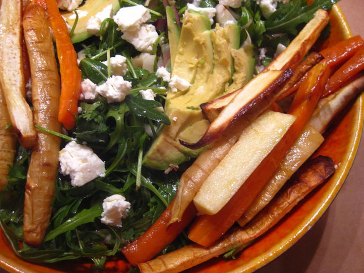 carrot cilantro salad
