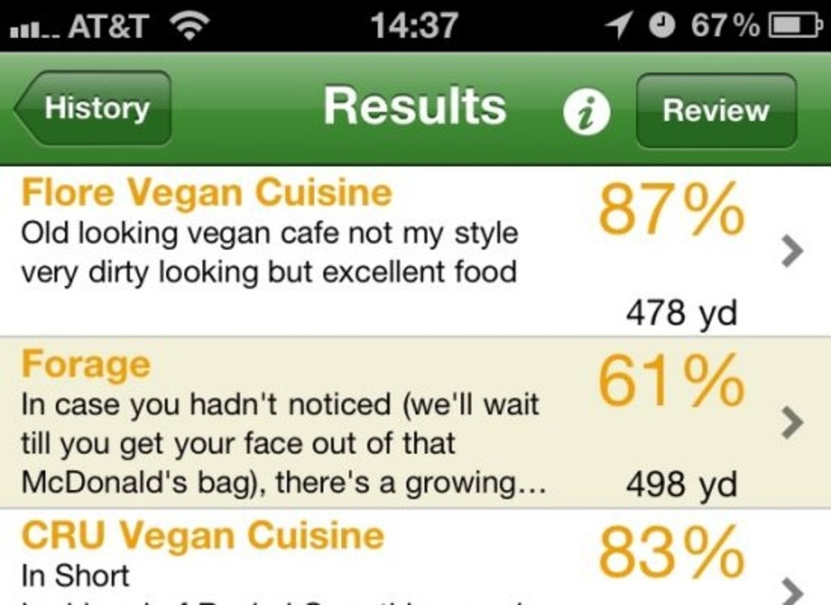 iPhone apps will reinvent food relationships in 2011