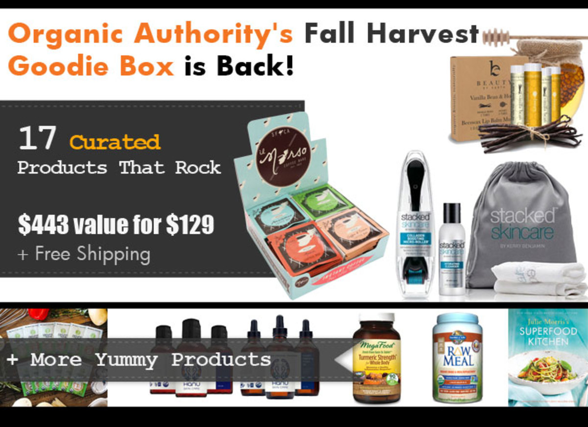 Organic Authority Fall Harvest 2015 Goodie Box