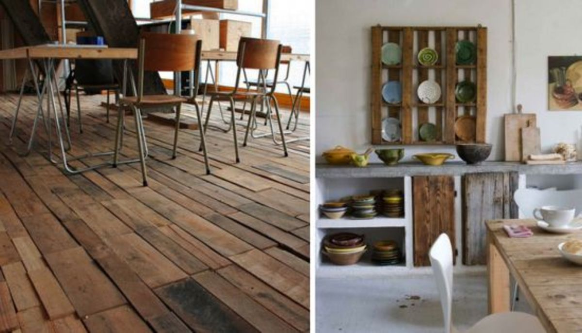 5 Ways To Reuse A Wooden Pallet Organic Authority