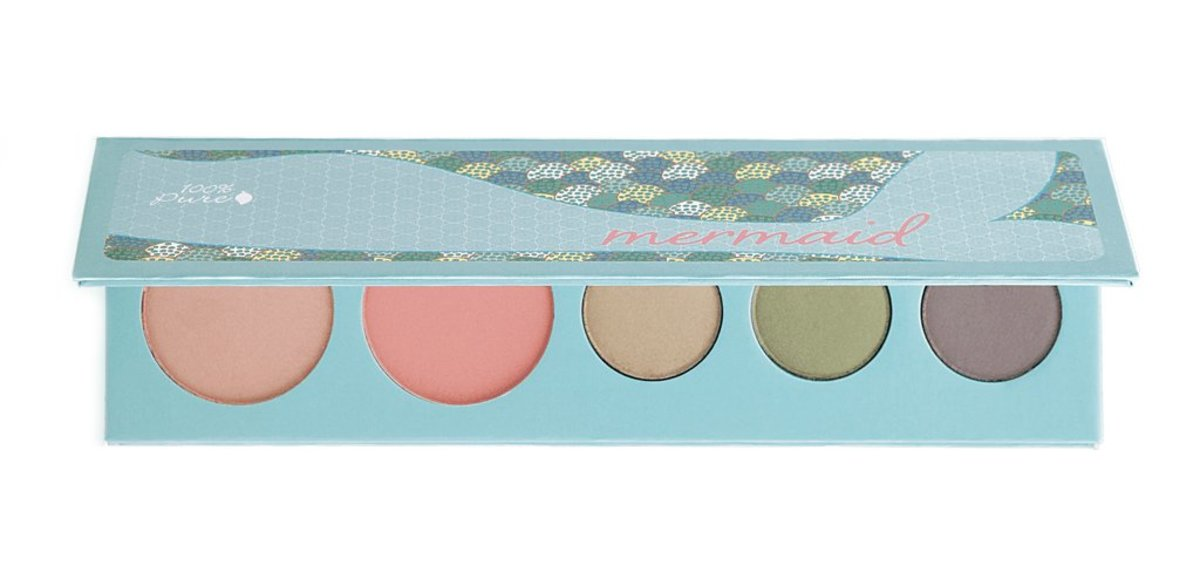 100% Pure Fruit Pigmented Mermaid Palette