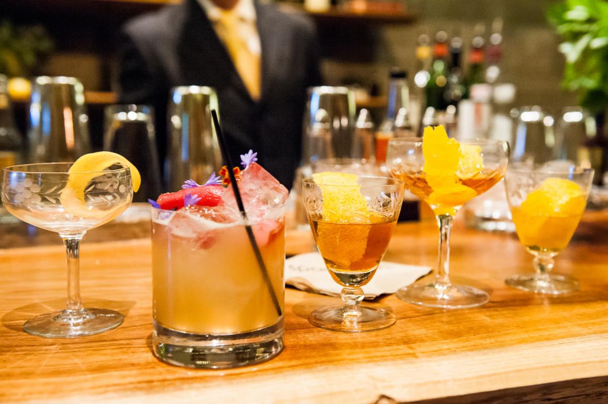 Spring cocktials.