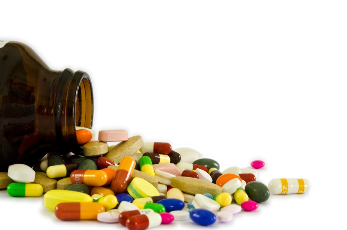 Vitamin image via Shutterstock