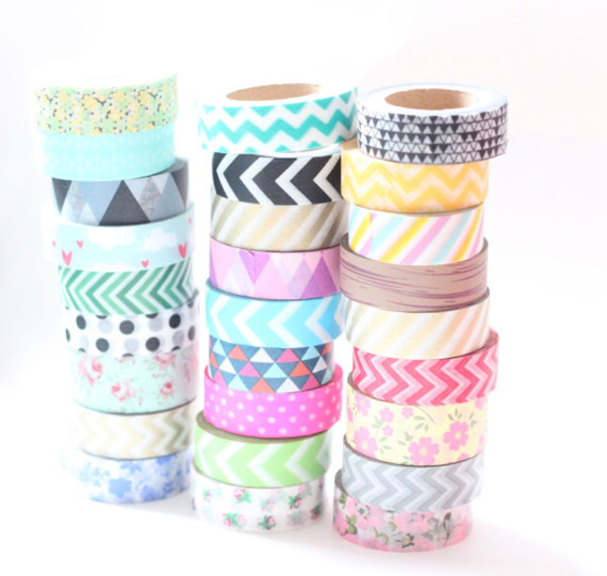 Washi tape is an everyday decorating idea.