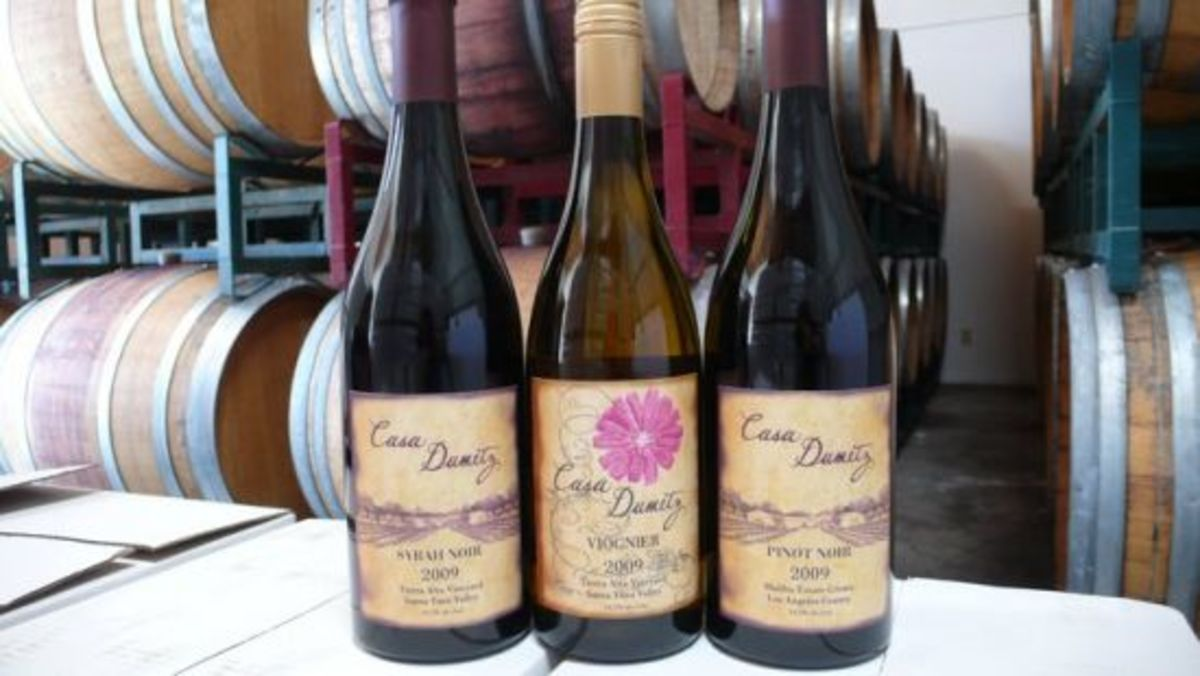Emilio Estevez's wine, Casa Dumetz is made with grapes grown in his front yard.