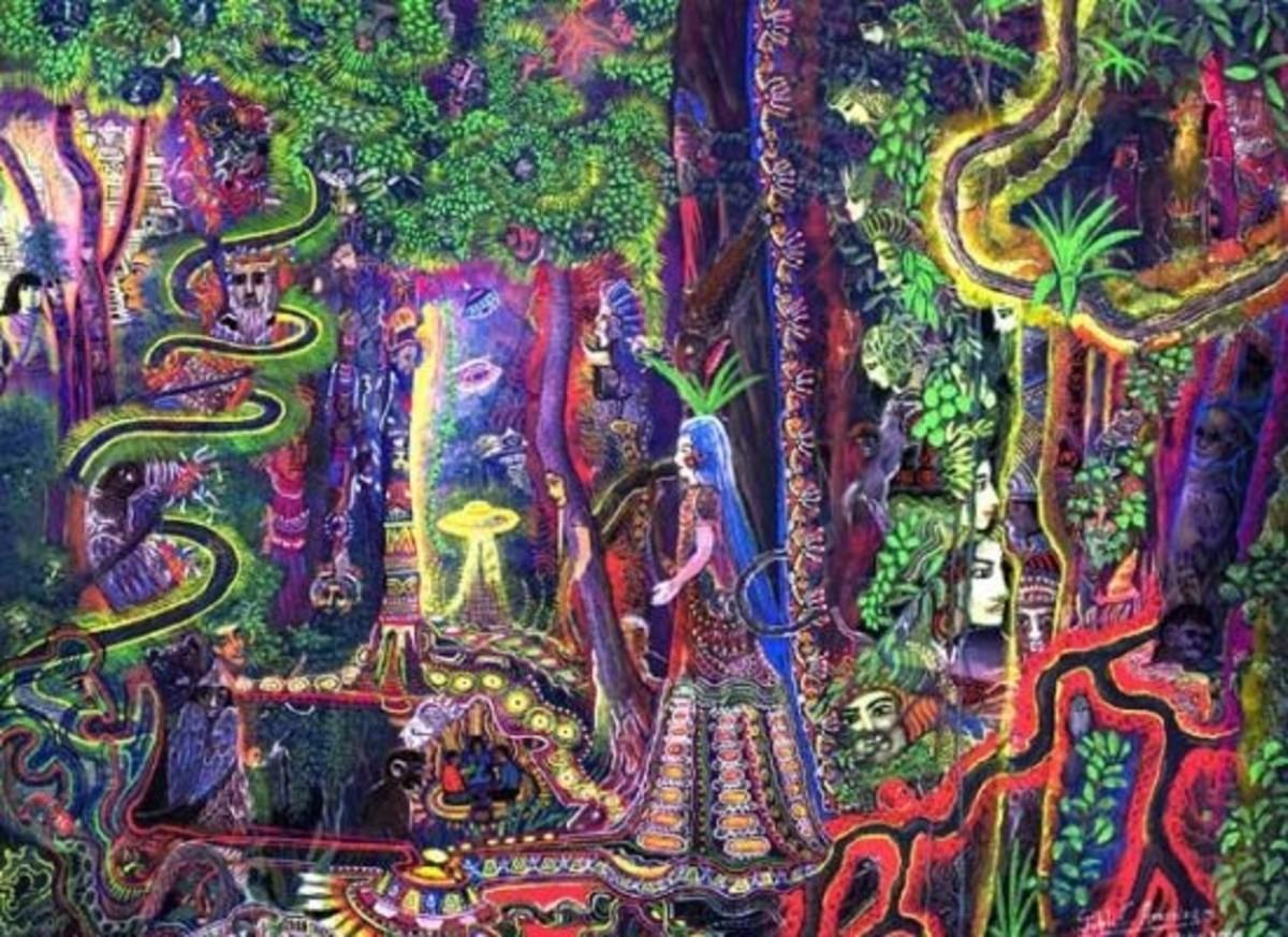 Ayahuasca vision