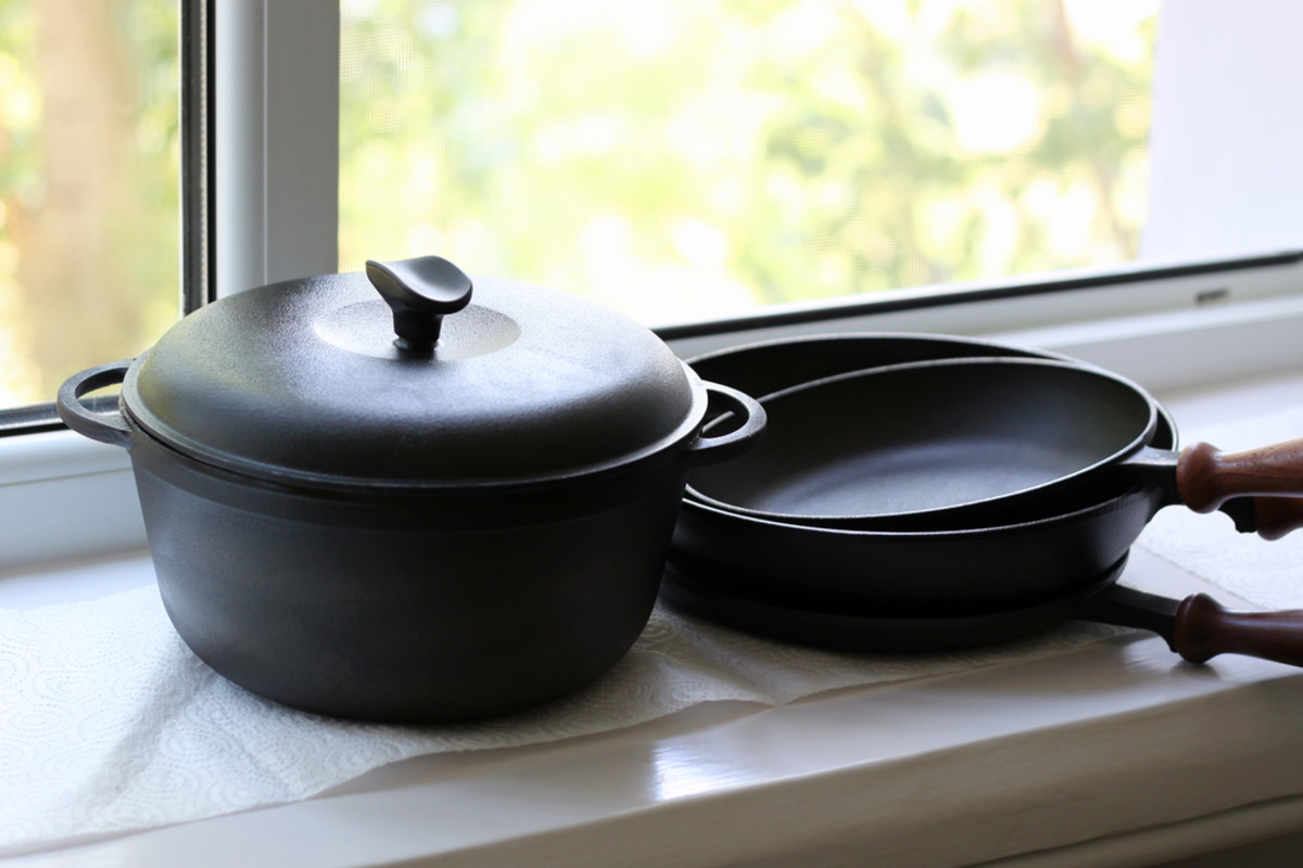 Learn about the benefits of cast iron cookware.
