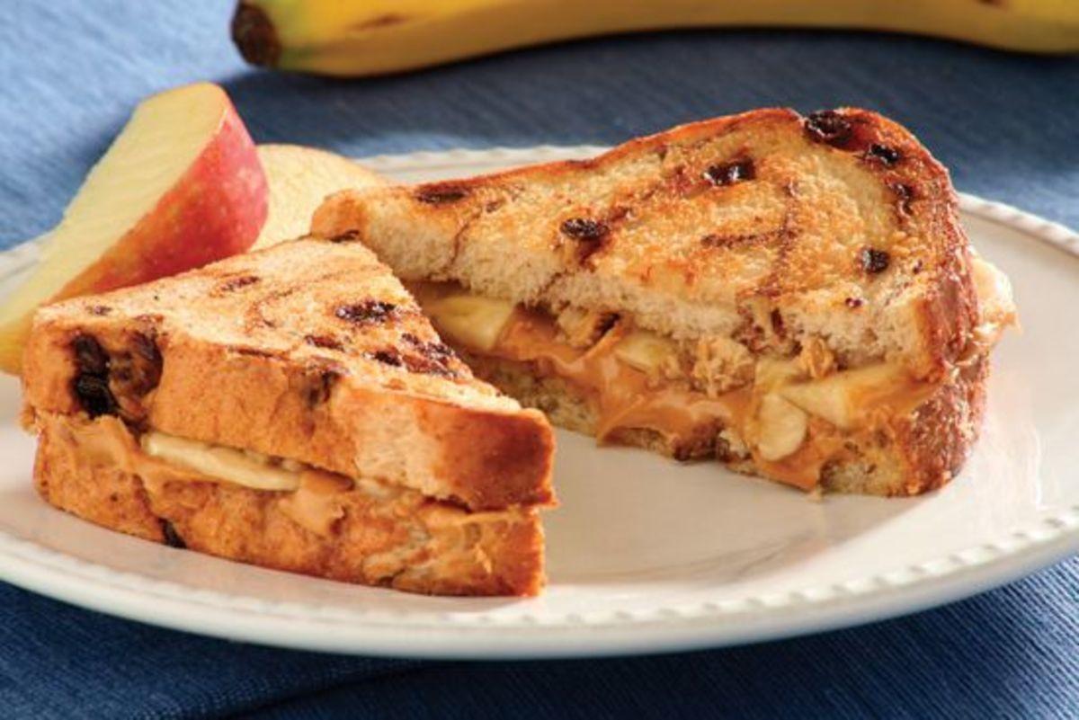 Crunchy Elvis Sandwich