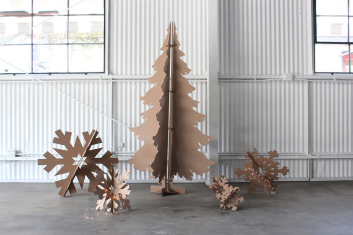 Clever DIY Christmas tree alternatives.