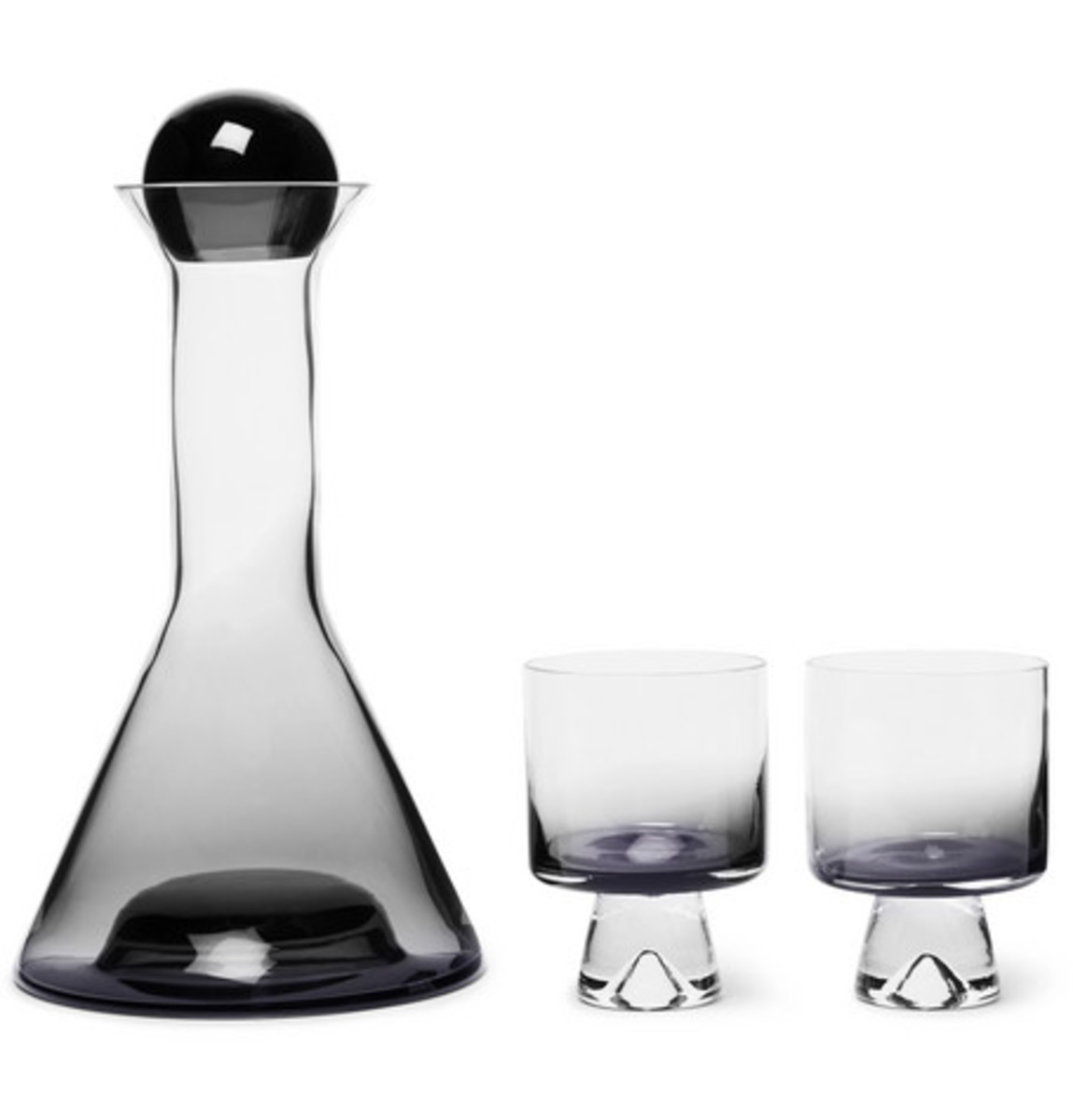 Decanter and Wine Glass Set