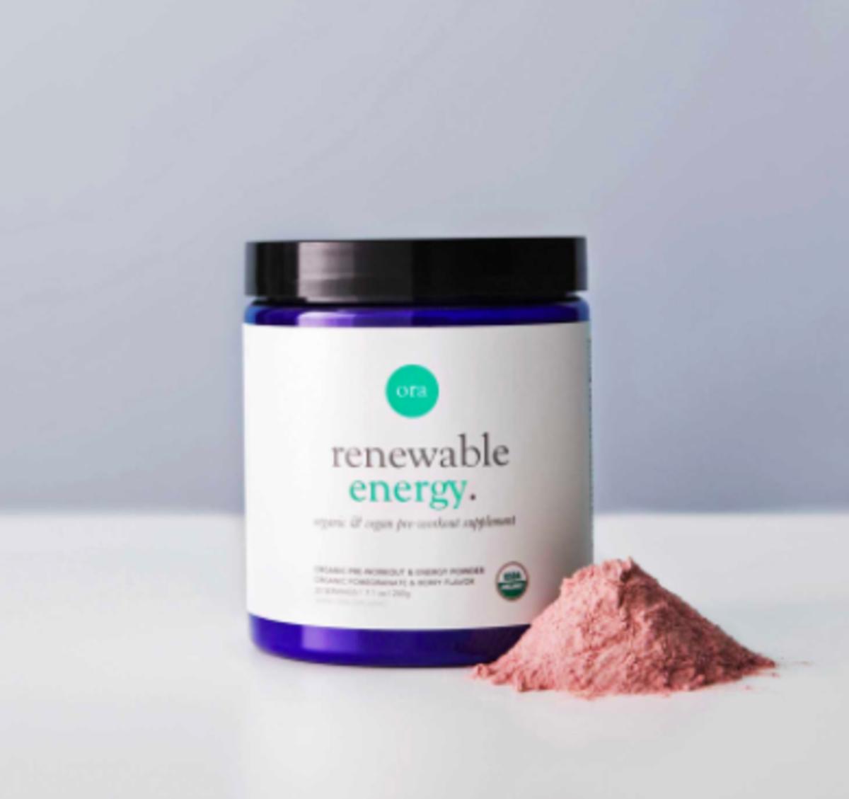 Ora Organics Pre Workout Powder