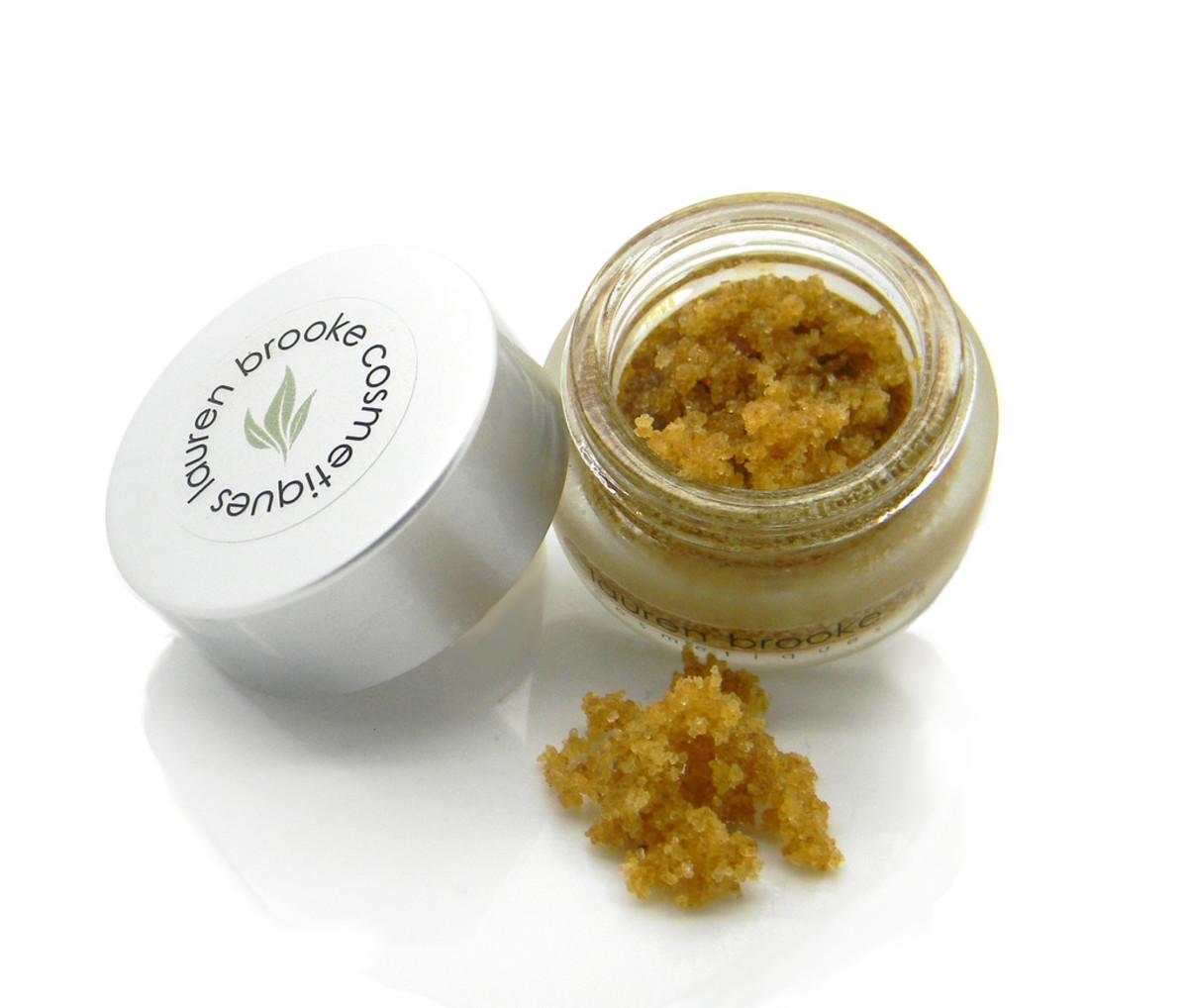 Lauren Brooke Organic Sweet Chai Lip Scrub