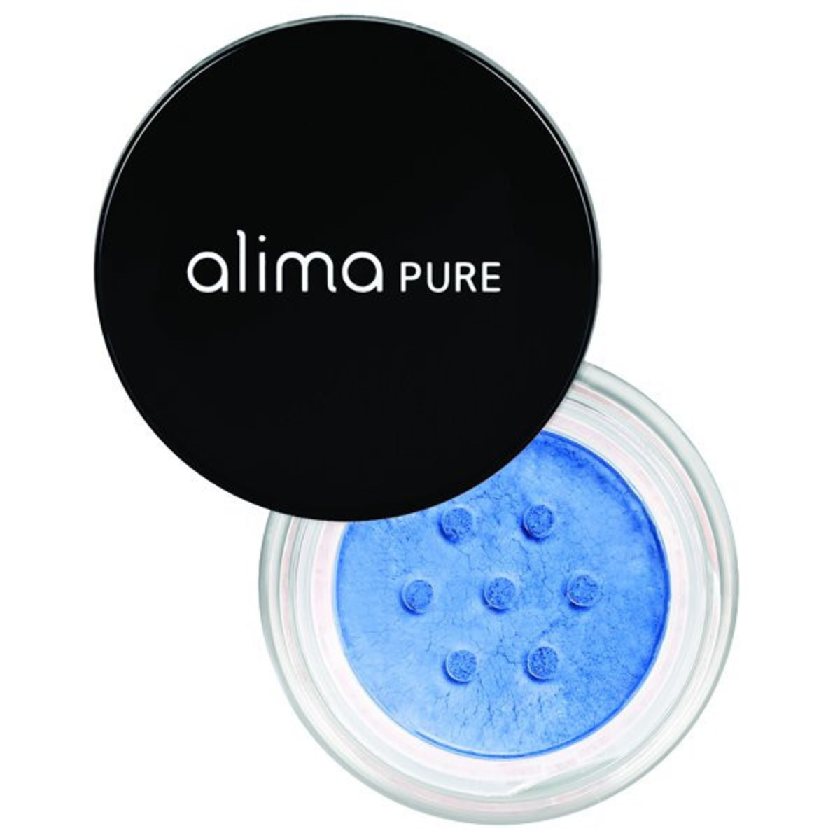 Alima Pure Satin Matte Eyeshadow in Cobalt