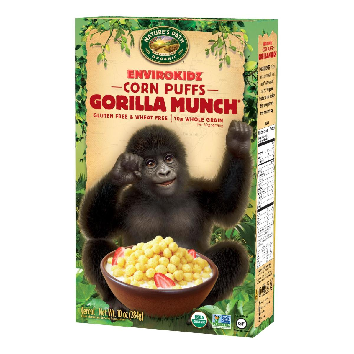 nature's path gorilla munch