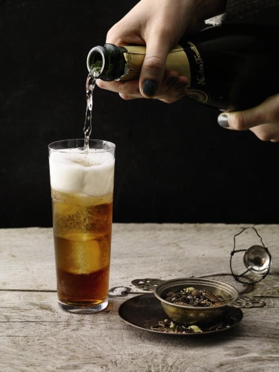 Chocolate Arrow Tea-Infused Cocktail Recipe