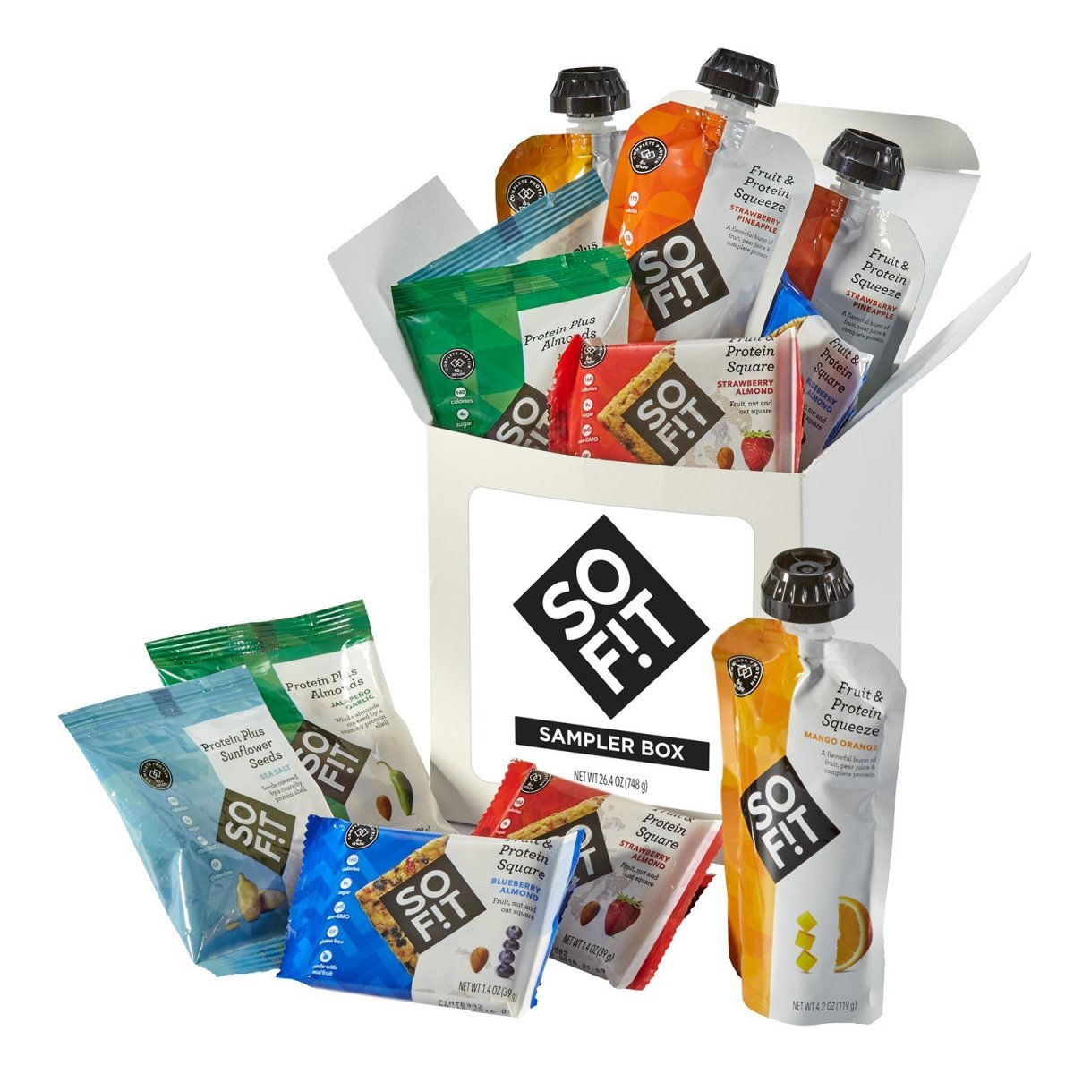 SoFit is Hershey's answer to nutritious snacks.