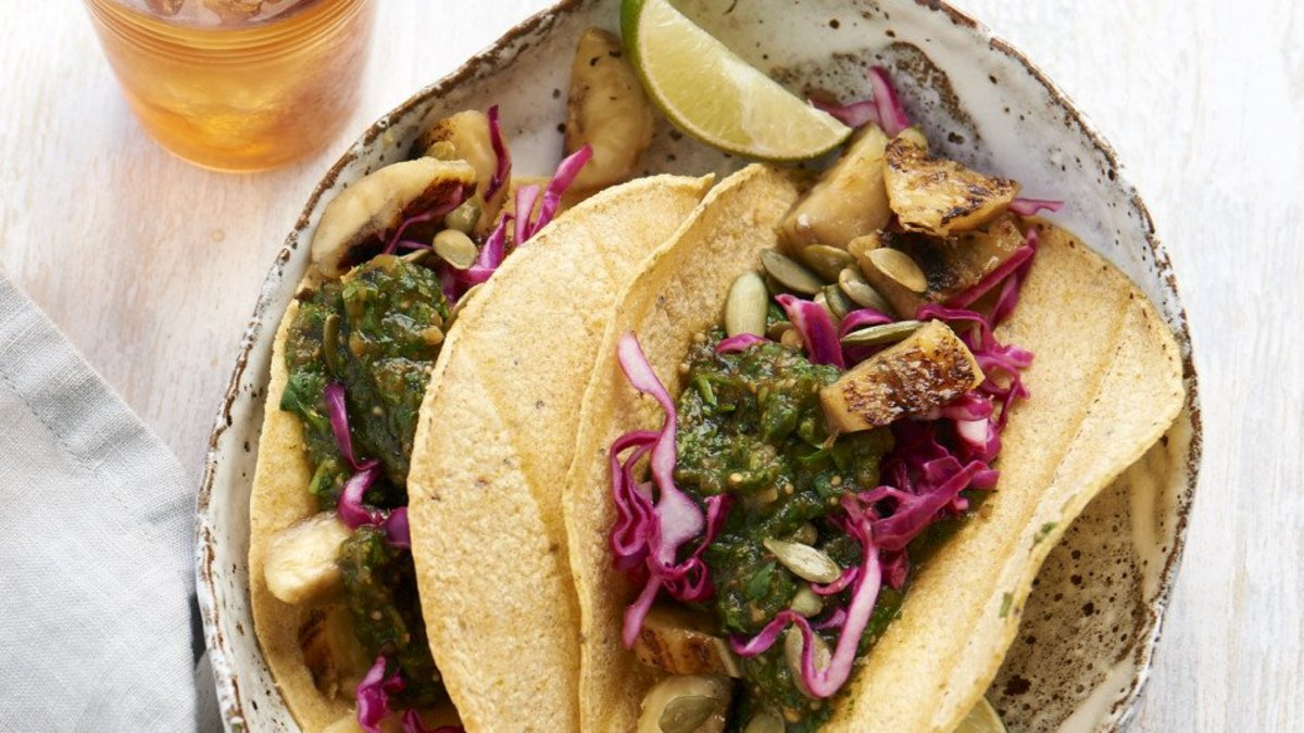 vegan grilled tacos