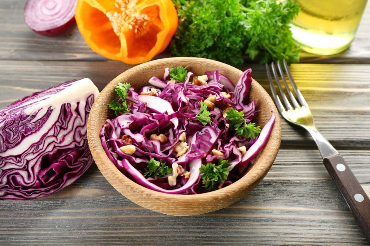 Raw Cabbage Recipe