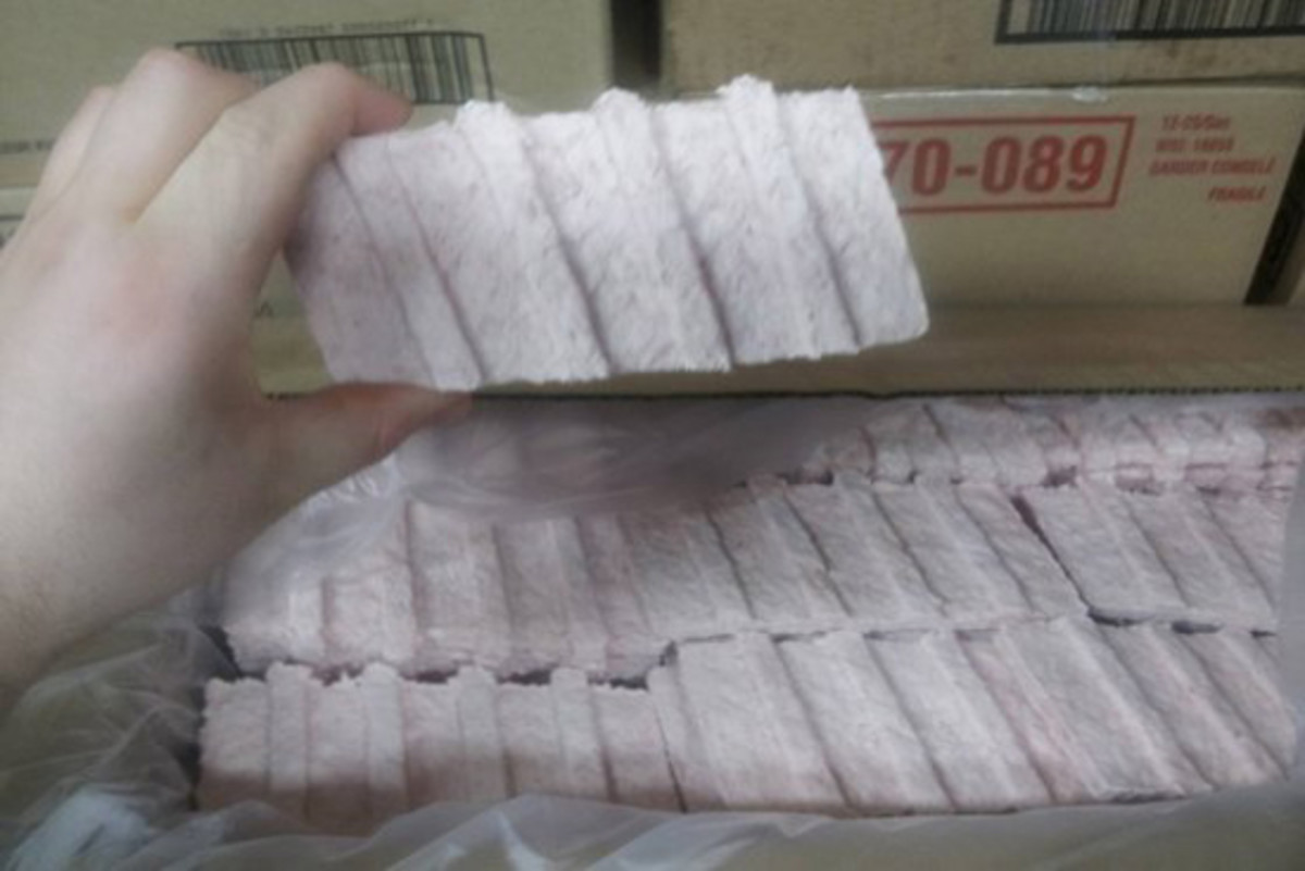 Frozen McRib Meat