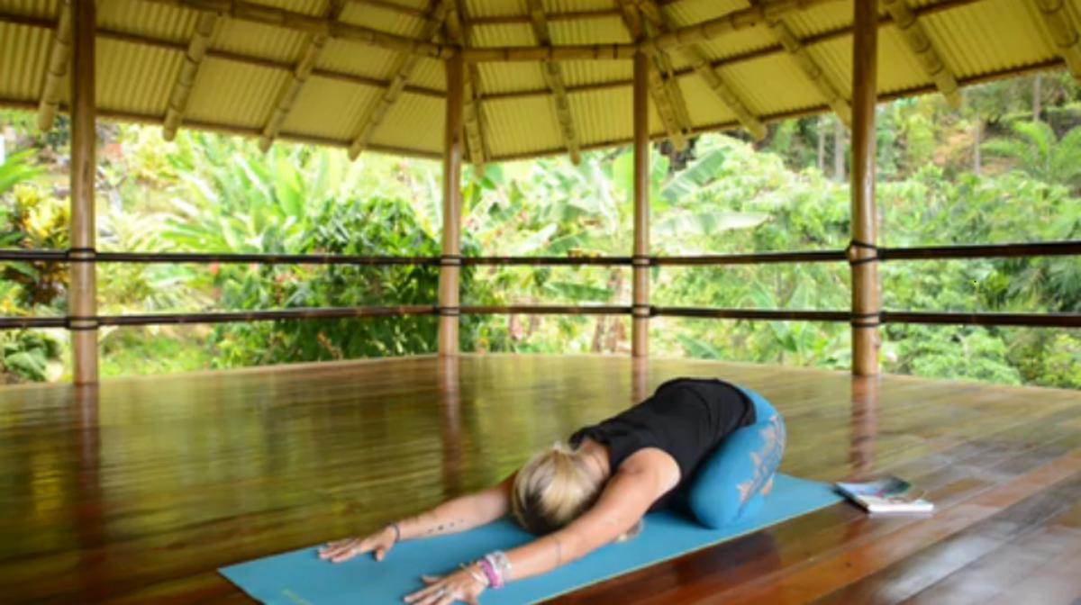 Calming Beginning Yoga Poses from Yoga Girl Rachel Brathen