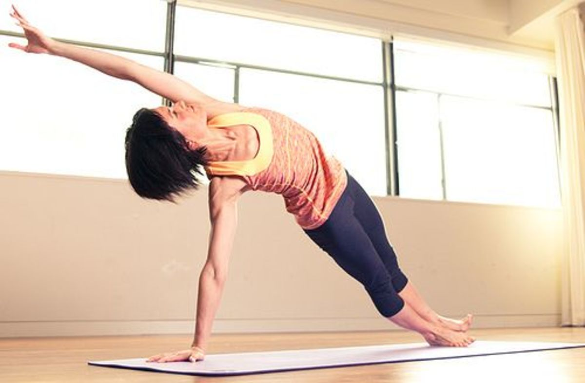 yoga for a powerful core
