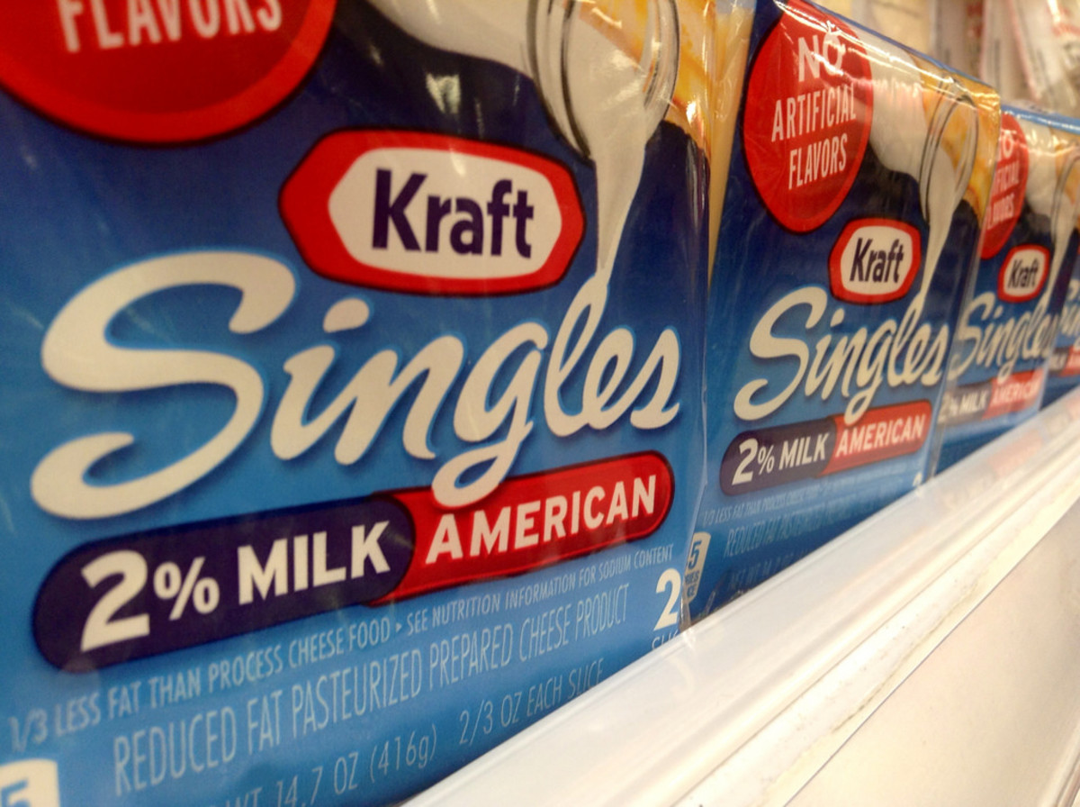 Gag Me With Kraft Singles? Processed Cheese Slices Recalled Over Choking Risk