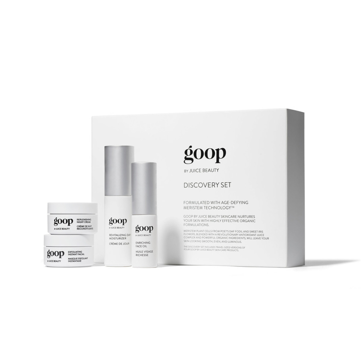Goop by Juice Beauty Discovery Set, $125