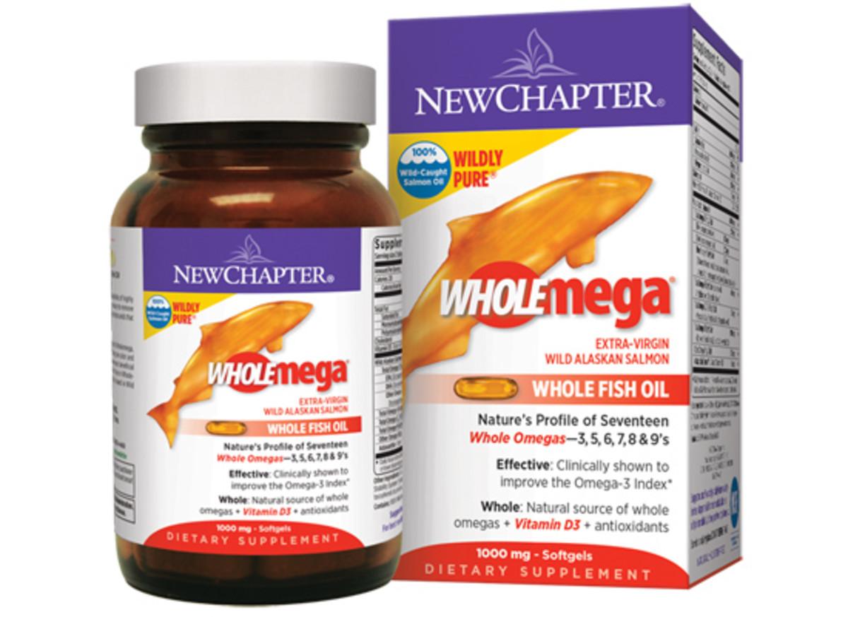 New Chapter Wholemega Fish Oil