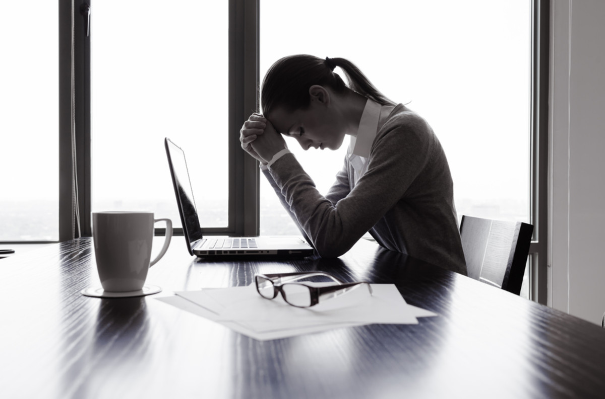 Do You Suffer From an Anxiety Disorder? Your Desk Job Could Be to Blame