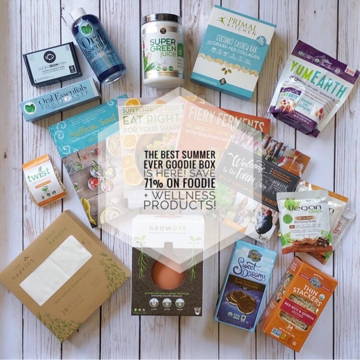 Organic Authority Summer Goodie Box