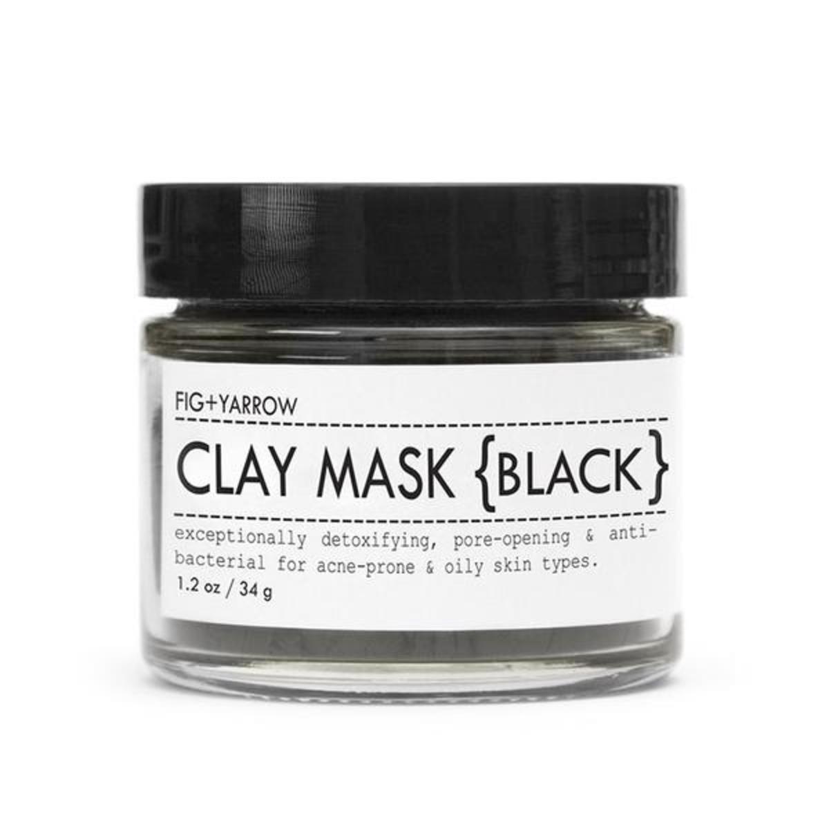 Fig + Yarrow Clay Mask {Black}