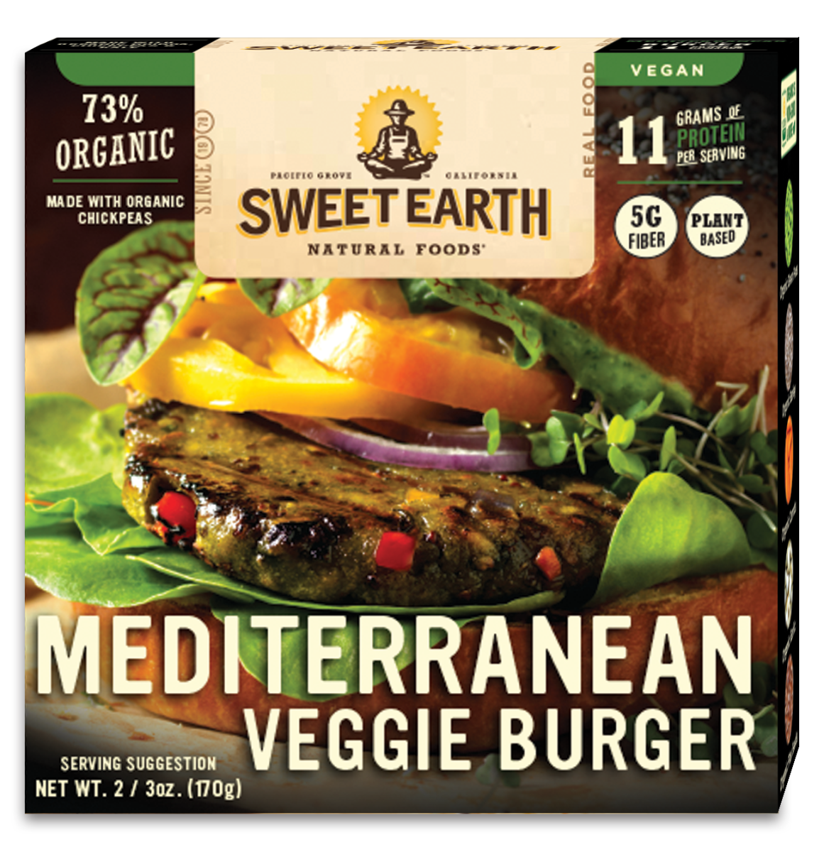 Mediterranean Veggie Burger box (May)
