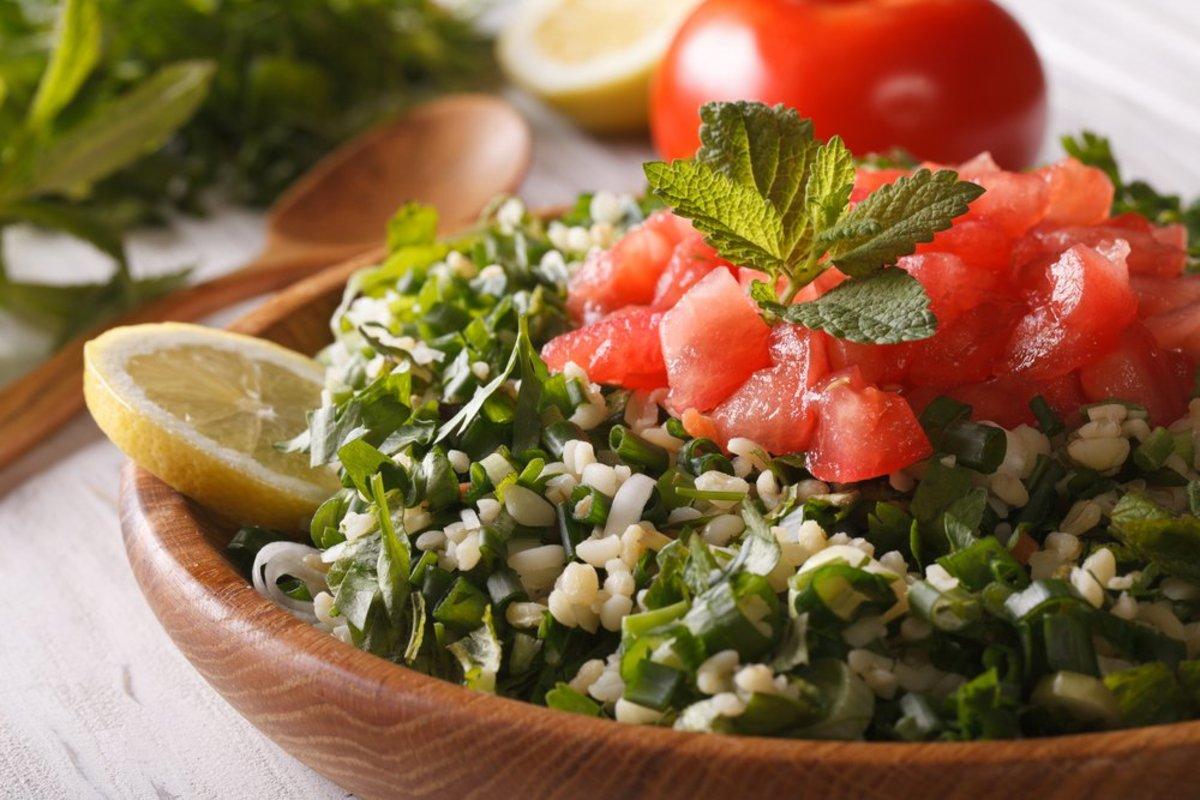 Tabbouleh Salad Image from Shutterstock