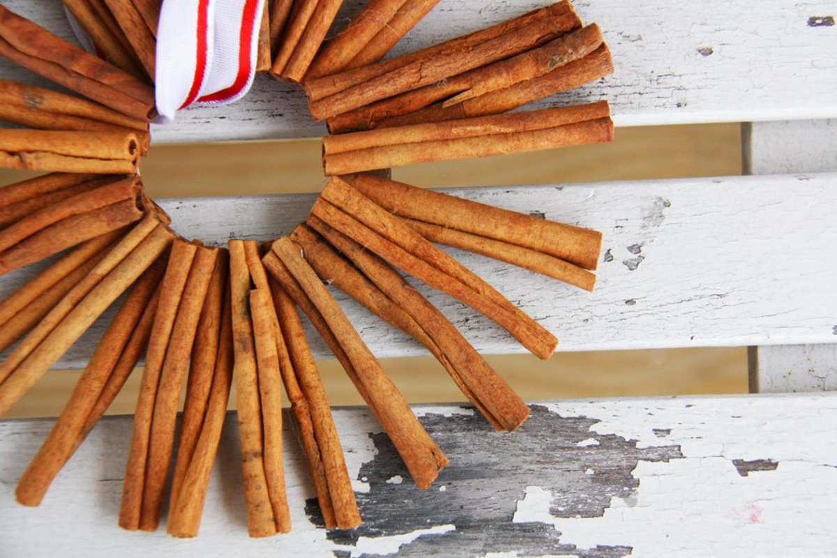 DIY the Easiest Homemade Christmas Cinnamon Ornaments Ever