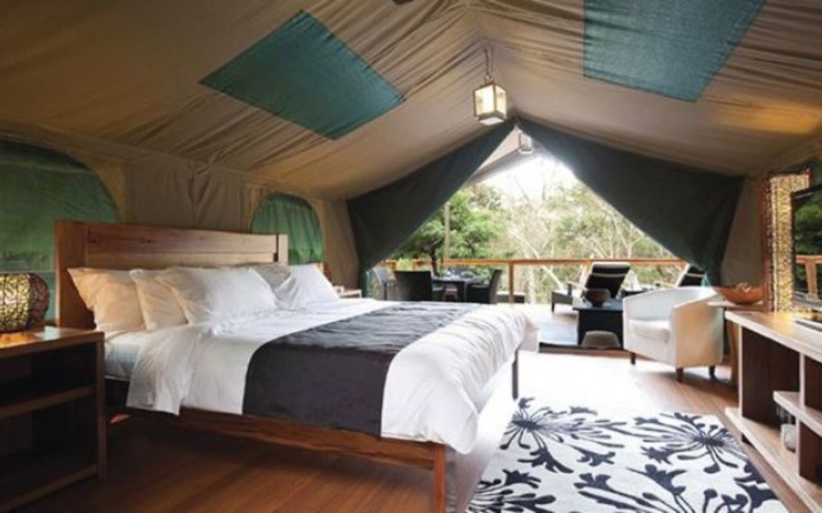 7 western glamping decor ideas organic authority for Glamping ideas diy