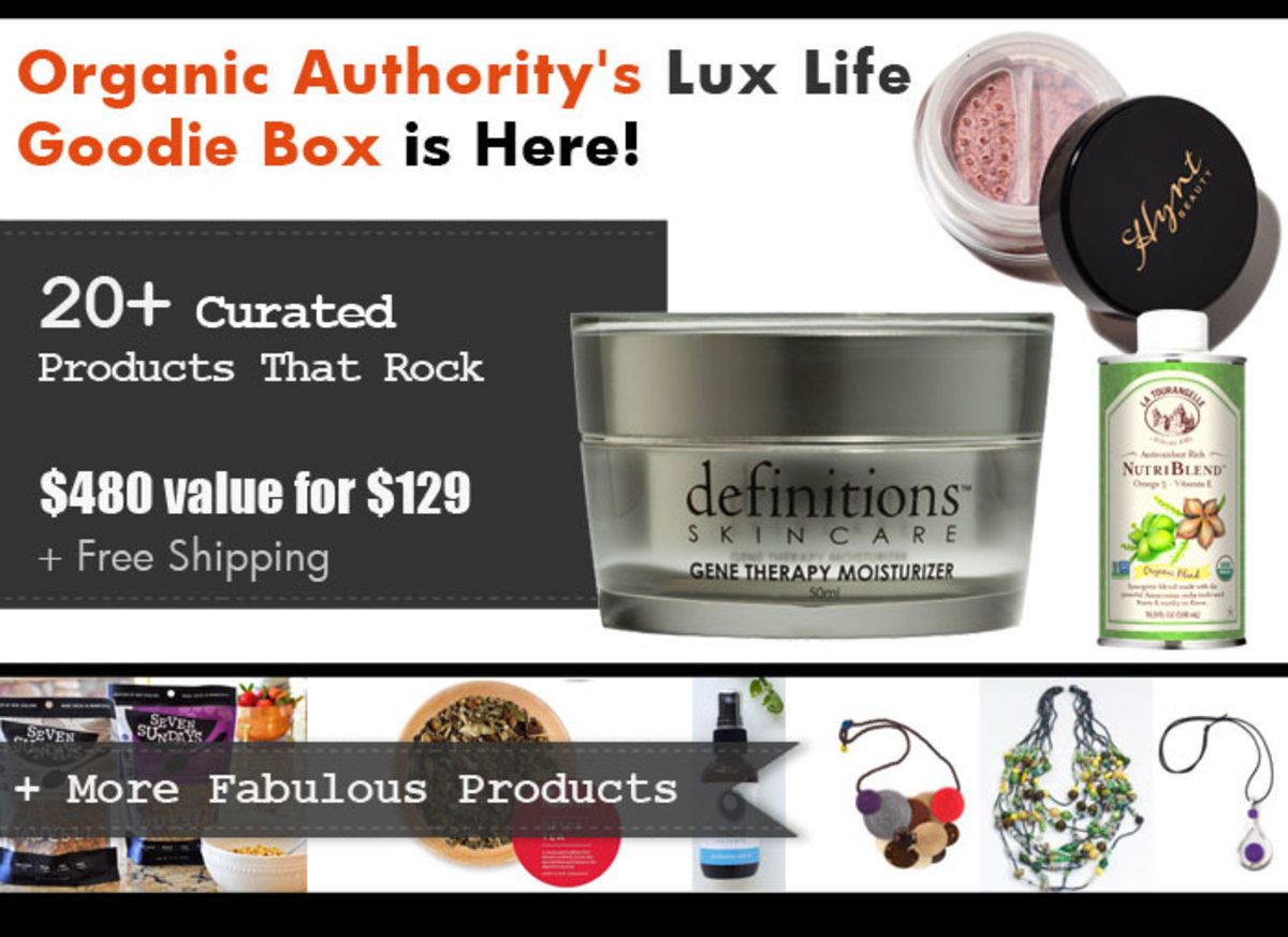 Organic Authority April Goodie Box